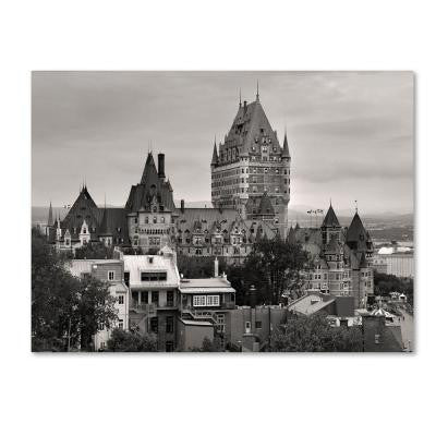 30 in. x 47 in. Quebec City Canvas Art