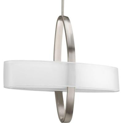 Cuddle Collection 4-Light Brushed Nickel Pendant