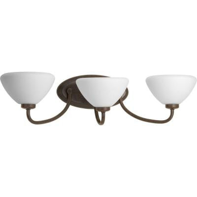 Rave Collection 3-Light Forged Bronze Bath Light
