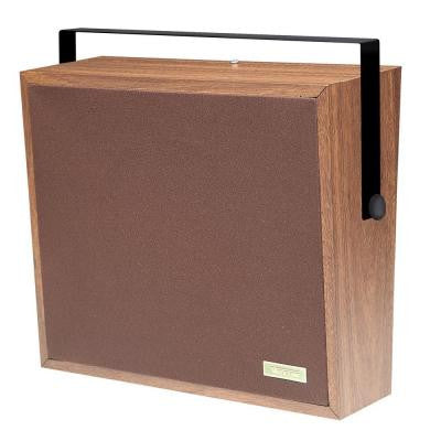 1-Way Woodgrain Corridor Speaker - Cloth