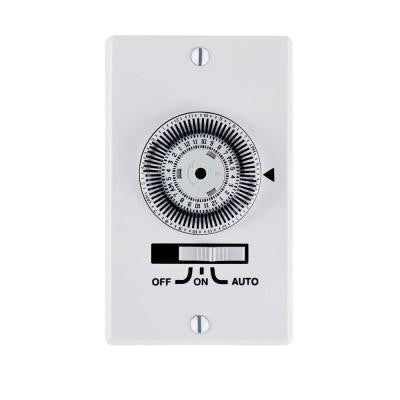 20 Amp Heavy Duty In-Wall Timer - White