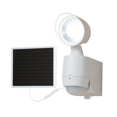 130° Motion Activated Single Head Solar Powered LED Light