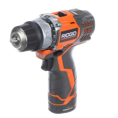Fuego 12-Volt 3/8 in. Cordless Hyper Lithium-Ion 2-Speed Drill/Driver Kit