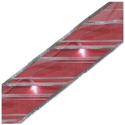 Candy Stripe Lighted LED Ribbon
