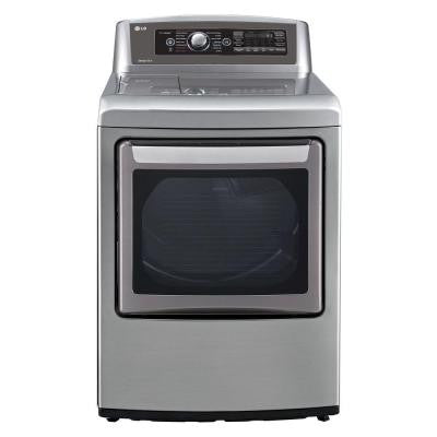 EasyLoad 7.3 cu. ft. Gas Dryer with Steam in Graphite Steel