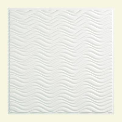 Current - 2 ft. x 2 ft. Lay-in Ceiling Tile in Gloss White