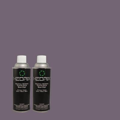 11 oz. Match of PMD-44 Twilight Dusk Low Lustre Custom Spray Paint (2-Pack)