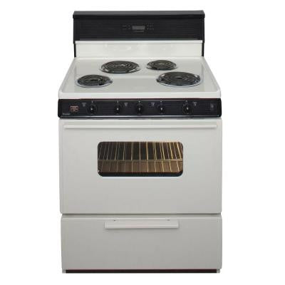 30 in. 3.91 cu. ft. Electric Range in Biscuit