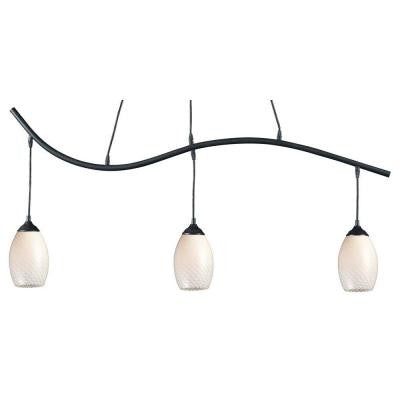 Lawrence Collection 3-Light Sand Black Island Light