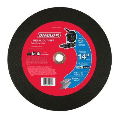 14 in. x 7/64 in. x 1 in. Metal Chop Saw Disc