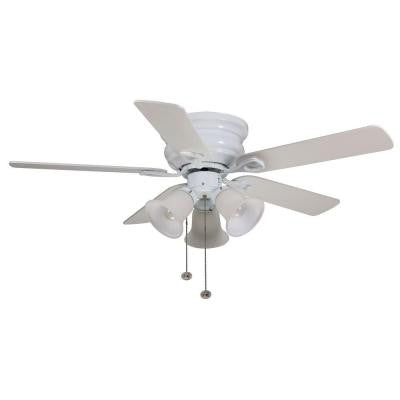 Clarkston 44 in. White Ceiling Fan