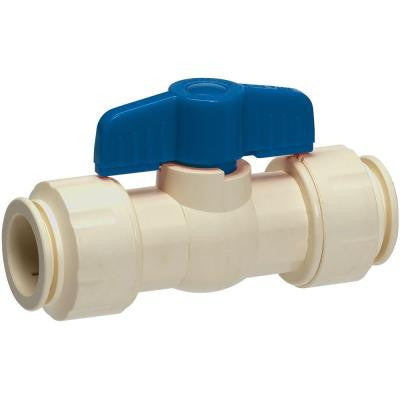 3/4 in. CPVC Push-Fit Ball Valve