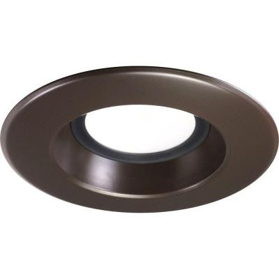 Nicor D-Series 5 in. and 6 in. 2700K Oil Rubbed Bronze Dimmable LED Recessed Retrofit Kit
