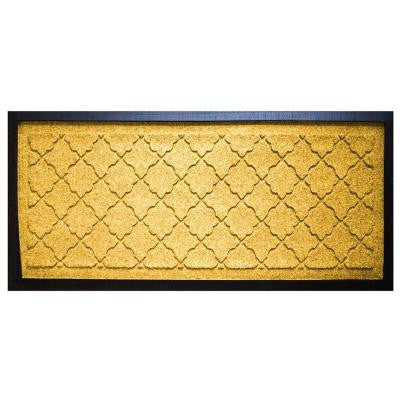 Yellow 15 in. x 36 in. Cordova Boot Tray