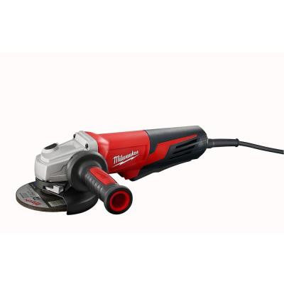 13-Amp 5 in. Small Angle Grinder with Lock on Paddle Switch