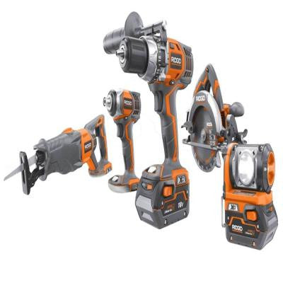 Reconditioned X4 Hyper Lithium-Ion Combo Kit (5-Piece)