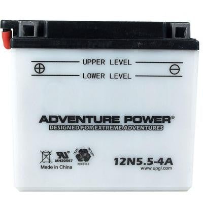 Conventional Wet Pack 12-Volt 5.5 Ah Capacity G Terminal Battery