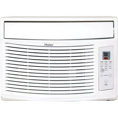 10,000 BTU 115-Volt Window Air Conditioner and MagnaClik Remote with Braille