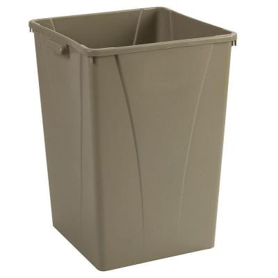 Centurian 50 Gal. Gray Square Trash Can (4-Pack)