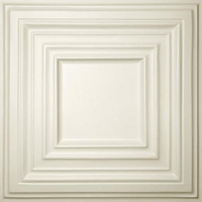 Bistro Sand 2 ft. x 2 ft. Lay-in or Glue-up Ceiling Panel (Case of 6)