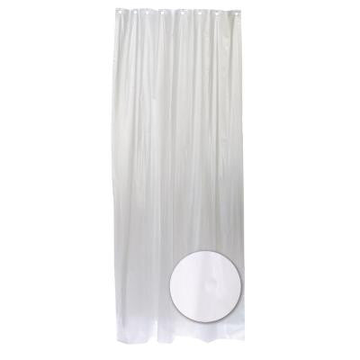 42 in. W x 78 in. Stall Shower Liner Vinyl in Frosty