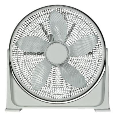 20 in. Turbo High Performance Air Circulator Pedestal Fan