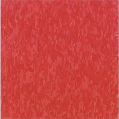 Imperial Texture VCT 12 in. x 12 in. Hot Lips Commercial Vinyl Tile (45 sq. ft. / case)