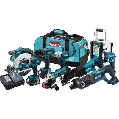 18-Volt LXT Lithium-Ion Combo Kit (9-Tool)