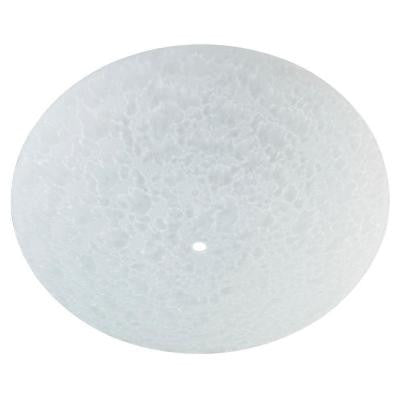 1-3/4 in. Round Frosted Diffuser with 13 in. Width