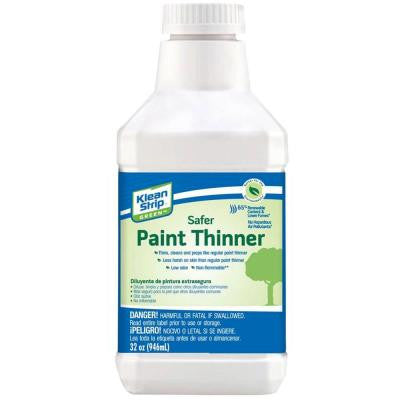 1 qt. Green Safer Paint Thinner