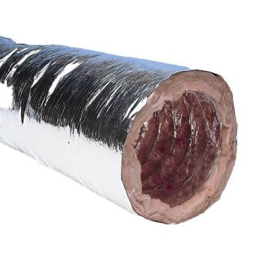 5 in. x 25 ft. Insulated Flexible Duct R8 with Metalized Jacket