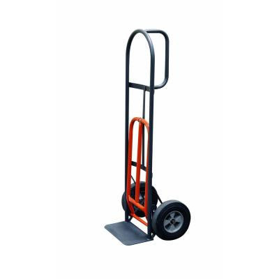 800 lb. Capacity D-Handle Hand Truck with 10 in. Puncture Proof Tires and Nose Plate Extension