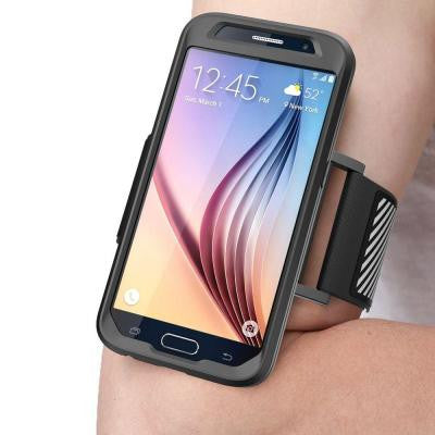 Armband Sport Case for Samsung Galaxy S6 - Black