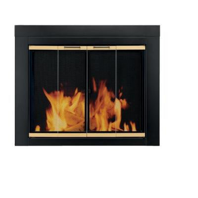 Arrington Small Glass Fireplace Doors