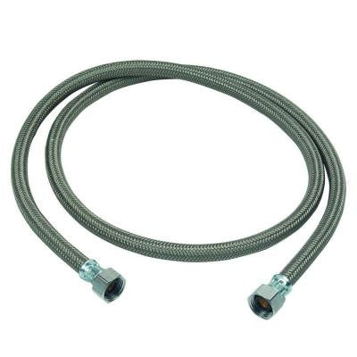 1/2 in. FIP x 1/2 in. FIP x 60 in. Braided Polymer Dishwasher Connector
