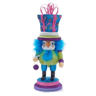 14 in. Hollywood Bright Color with Gift Hat Nutcracker