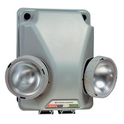 6-Volt Navy/Gray 2-Tone Industrial Emergency Lighting Unit