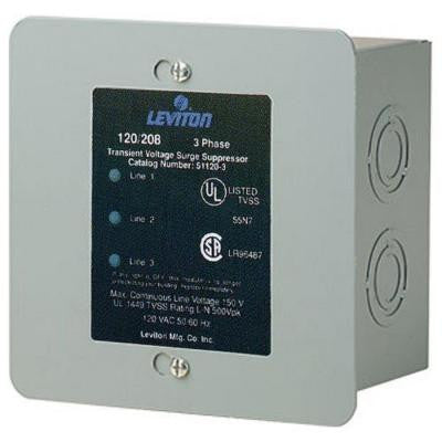120/208-Volt 3-Phase WYE Surge Protector Panel