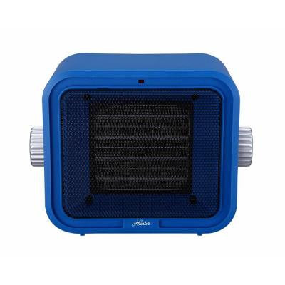 1500-Watt Ceramic Retro Electric Portable Heater - Blue