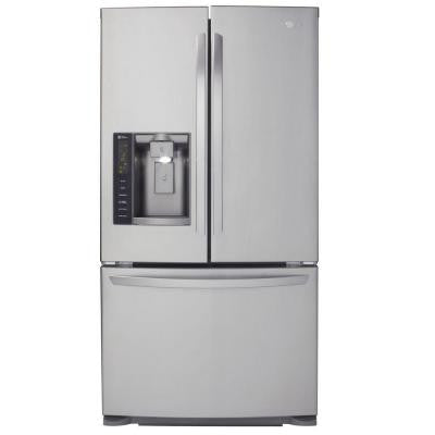 24.1 cu. ft. French Door Refrigerator in Stainless Steel