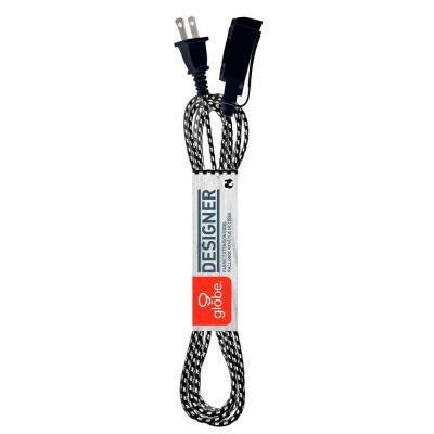 6.5 ft. 3-Outlet Designer Fabric Extension Cord