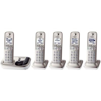 5-Handset Expandable Digital Cordless Answering System