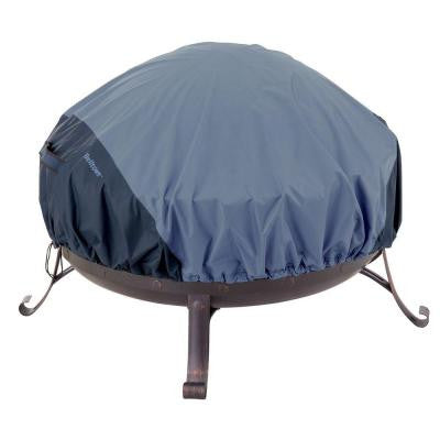 Belltown 44 in. Skyline Blue Round Patio Fire Pit Cover