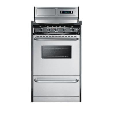 20 in. 2.46 cu. ft. Electric Range in Stainless Steel