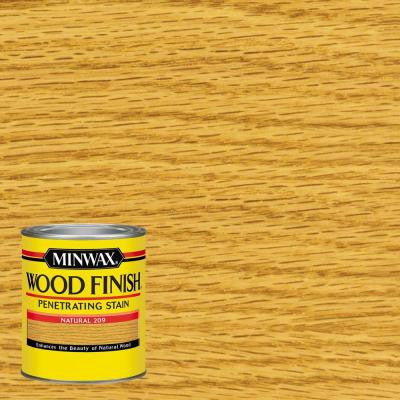 1 qt. Wood Finish Natural Oil-Based Interior Stain