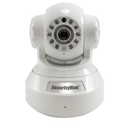 DIY Wireless/Wired IP Indoor Camera with H.264 Compression SD Recorder