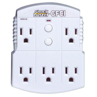 GFCI 5 Outlet Adapter