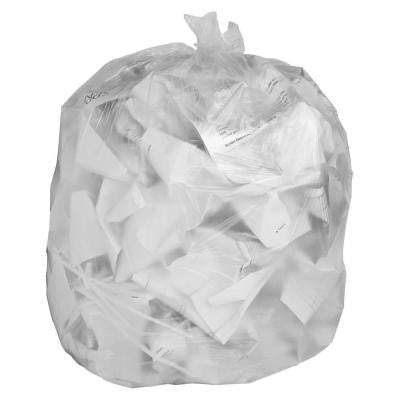 30 Gal. Clear Trash Can Liners (250-Count)
