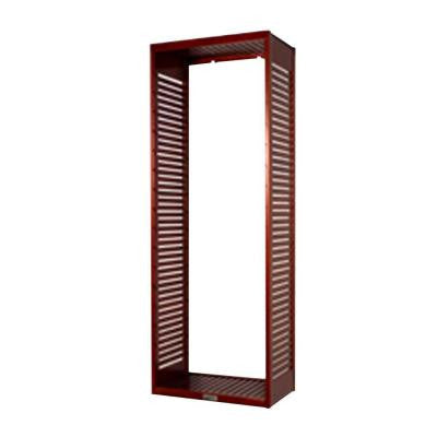 16 in. Deep Stand Alone Tower Kit in Red Mahogany