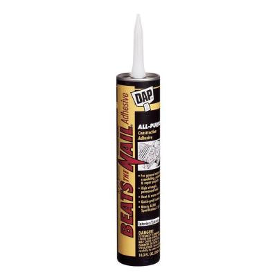 Beats the Nail 10.3 oz. All-Purpose Construction Adhesive (24-Pack)
